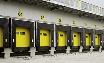 A Row of Roller Doors