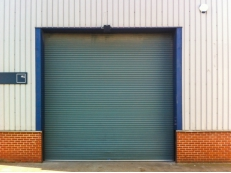 Commercial Insulated Roller Shutter Installation.