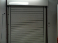 One of Our Smaller Insulated Roller Shutters.