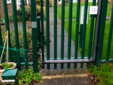 Pedestrian Gate With Disabled Access