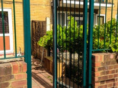 Pedestrian Gate Installation With Disabled Access